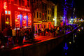 Amsterdam Red Light District Stock Photography - 97737252