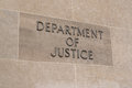 Department Of Justice Sign Stock Photos - 97748953