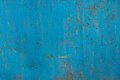 Blue Rusty Metal Texture Stock Photo - 97759570