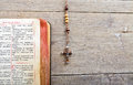 Rosary Beads And Breviary Royalty Free Stock Photography - 97761297