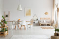 Dining Space And Living Room In Apartment Stock Photos - 97808273