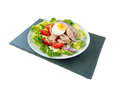 Tuna Salad On The Slate Board Side Wiew Royalty Free Stock Image - 97824086