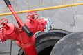 Red Fire Hydrant Royalty Free Stock Image - 97842746