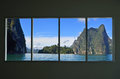 Beautiful Location In Window View Royalty Free Stock Image - 97870176