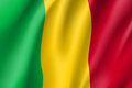 Mali Realistic Flag Royalty Free Stock Photo - 97880395