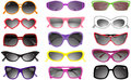 Collection Of Solar Glasses Stock Image - 9794011