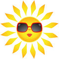 Sun Icons. Vector Illustration Royalty Free Stock Images - 9795629
