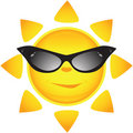 Sun Icons. Vector Illustration Stock Photos - 9795643
