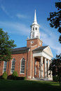 Church With Spire Royalty Free Stock Photos - 9799008