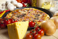 Pizza With Mushrooms Stock Images - 9808174