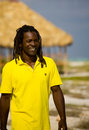 Man With Yellow T-shirt In Cuba Stock Images - 9811294