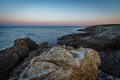 Coastal Hike To The Sunrise In Quiberon In Brittany Royalty Free Stock Image - 98136586
