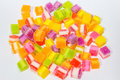 Yelly Sweet Candy On White Background Royalty Free Stock Photos - 98151508
