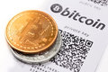 Bitcoin`s Wallet Stock Images - 98197964