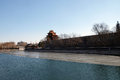 Outer Moat Corner Of The Forbidden City, Beijing Royalty Free Stock Photos - 98204188