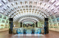 Capitol South Metro Station In Washington DC Stock Photography - 98214192