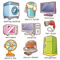 Home Electronics Stock Image - 98227011