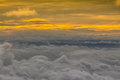 Birds Eye View Of Above Cloud And Sky, Stock Images - 98234404