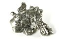 Silver Nugget Royalty Free Stock Image - 98242036