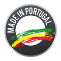Made In Portugal Label Badge Logo Certified. Royalty Free Stock Photo - 98314765