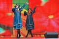Sabantui Celebration In Moscow. Two Women Performers Stock Image - 98320341