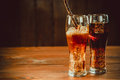 Beautiful Cold Fizzy Cola Soda With Cubes Ice Stock Images - 98321914