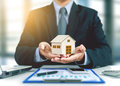 Home With Businessman Stock Photos - 98339493