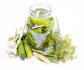 Brined Pickles In A Jar Stock Photography - 98364812