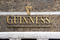 Guinness Logo On Its Storehouse In Dublin. Royalty Free Stock Image - 98372886
