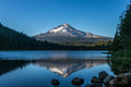 Reflection Of Mount Hood In Trillium Lake Oregon Stock Images - 98377704