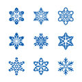 Set Of Vector Snowflakes. Graphic And Icons. Royalty Free Stock Photography - 98405267