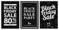 Black Friday Sale Card Sets Stock Photos - 98409673