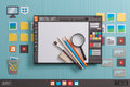 Graphic Design Software Royalty Free Stock Photography - 98421957