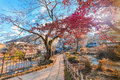 Ikaho Onsen On Autumn Is A Hot Spring Town Located On The Easter Royalty Free Stock Image - 98437876