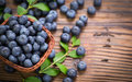 Fresh Blueberries Royalty Free Stock Photography - 98459717