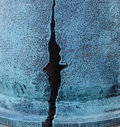 Big Crack In The Wall Of The House Royalty Free Stock Image - 98476976