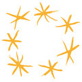 Stars (vector) Royalty Free Stock Photos - 9853188