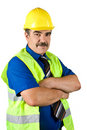 Mature Engineer Construction Stock Images - 9856524