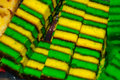 Traditional Mixed Colors Sweet Sponge Cake. An Unusual And Delicious Dessert. Borneo, Sarawak, Malaysia Stock Photo - 98532020