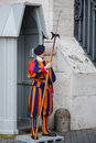 Pontifical Swiss Guard. Royalty Free Stock Images - 98558579
