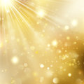 New Year And Xmas Defocused Background With Blinking Stars. EPS 10 Vector Royalty Free Stock Image - 98566016