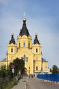 Cathedral In The Name Of The Holy Prince Alexander Nevsky. Nizhn Royalty Free Stock Image - 98599776