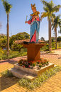 Statue Of Our Lady Holding Baby Jesus On The Lap Stock Photography - 98644502