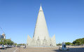 Side View Of Catedral And Obelisc In Maringa City Royalty Free Stock Photography - 98644707