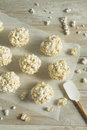 Sweet Homemade Popcorn Balls Royalty Free Stock Photo - 98645955