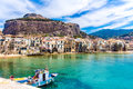 View Of Cefalu, Town On The Sea In Sicily, Italy Stock Photo - 98715550