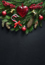Christmas Greeting Card Template Royalty Free Stock Photography - 98727397