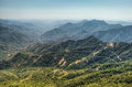 Views From Moro Rock In Sequoia And Kings Canyon National Park, California. Royalty Free Stock Photos - 98741468