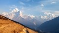 Mount Ama Dablam On The Way To Mount Everest Base Camp Royalty Free Stock Image - 98754186