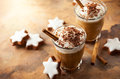 Coffee Shake For Christmas Royalty Free Stock Photo - 98767935